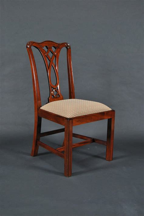 Mahogany Dining Chair Simple Chippendale Mahogany Leg Dining Chair 6 Arm Chairs