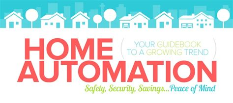 a guide to home automation infographic infographic
