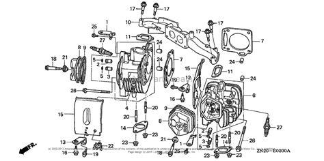 honda gxv530 wiring diagram honda gx270 wiring diagram