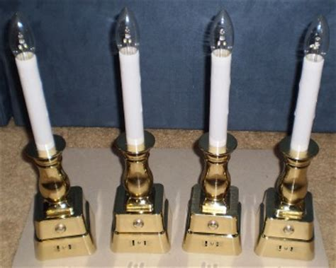 window candle lights with timer bethlehem lights battery operated window w timer