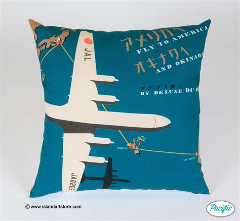 Pacific Pillow Co by Japan Air Pacific Pillow Co