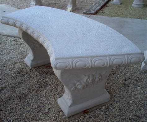 curved cement bench 17 best images about concrete table benches on pinterest