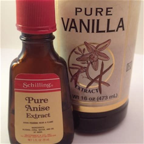 Vanilla Outher substitutions for vanilla and other extracts