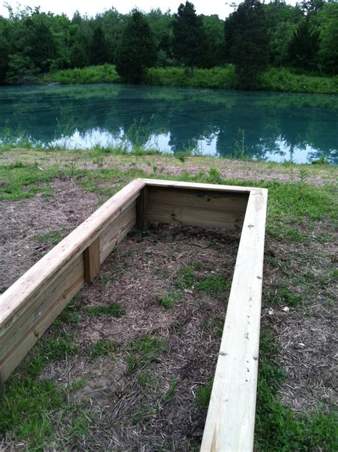 raised garden bed hardware raised garden bed just made this it is 12 4