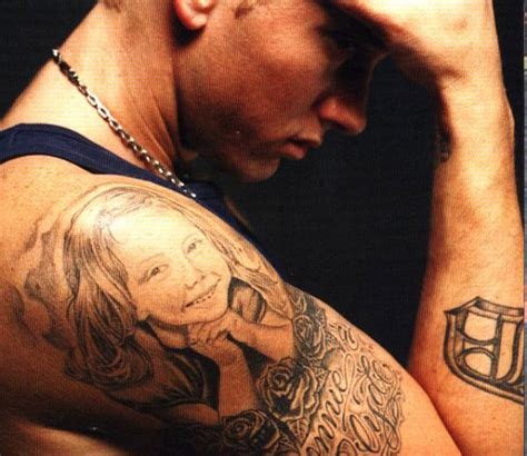 bonnie and clyde tattoos 15 best eminem designs and meanings styles at