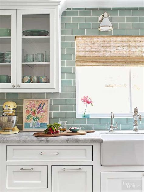 glass subway tile backsplash world of colors interior pinterest the world s catalog of ideas