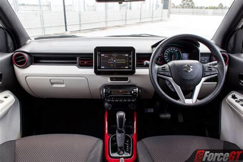 2018 suzuki ignis review forcegt - Interior Suzuki Ignis 2018