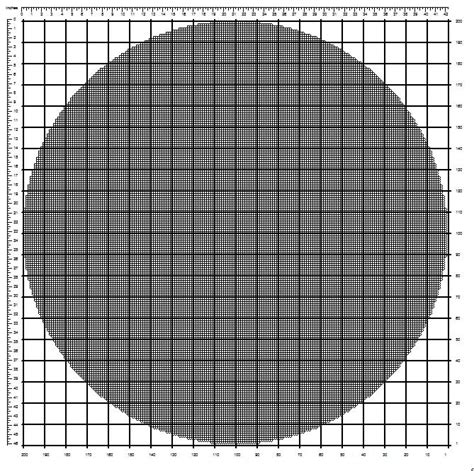 printable graph paper circle stitchmeknot printable free resources stitchmeknot creations