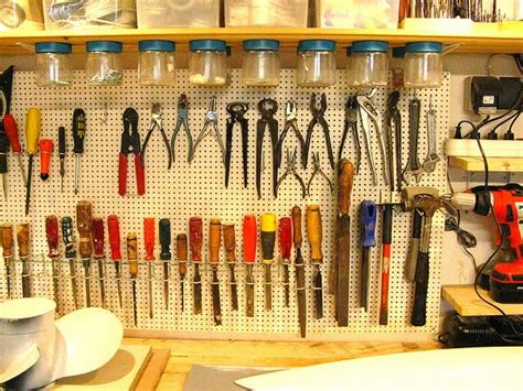 pegboard ideas for tools pegboard diy kitchen garage 76 best pegboard organization images on pinterest
