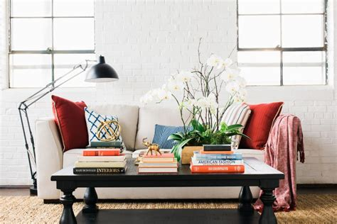 15 Designer Tips For Styling Your Coffee Table Hgtv Living Room Coffee Table Decorating Ideas
