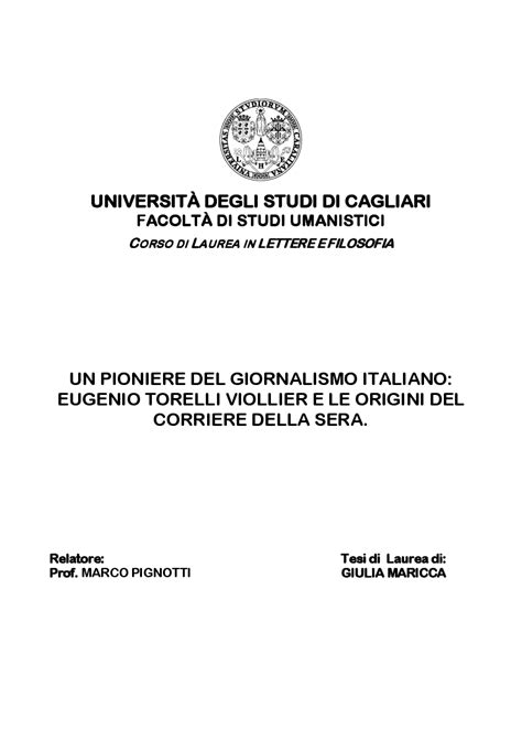 corso di laurea in lettere universit 192 degli studi di cagliari facolt 192 di studi