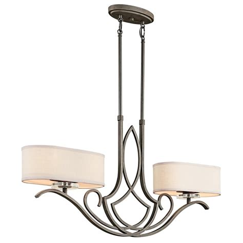 kichler lighting 42480oz leighton transitional kitchen