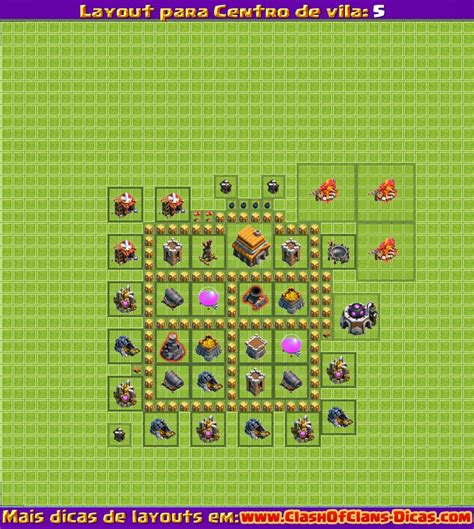 layout hybrido cv 7 melhores layouts para centro de vila 5 clash of clans
