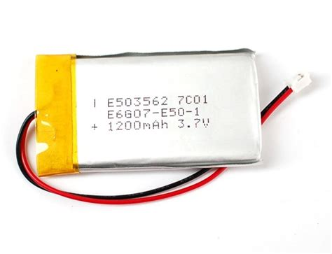 Battery Lythium Polymer 061045 new product lithium ion polymer battery 1200mah 171 adafruit industries makers hackers