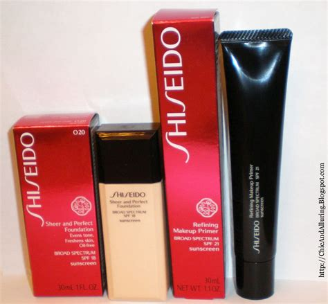 Primer Shiseido shiseido refining makeup primer spf21 reviews photos