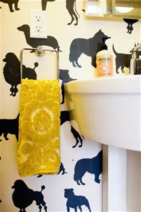 funky bathroom wallpaper ideas image mag 1000 ideas about dog wallpaper on pinterest fish