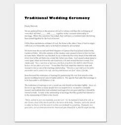 non religious wedding ceremony template history of same marriage wedding ceremony outline non