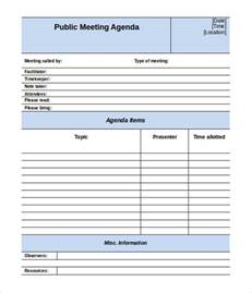 Word Vorlage Agenda Team Meeting Agenda Template Free 1 Best Agenda Templates