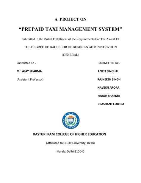 prepaid rent receipt template a project on taxi