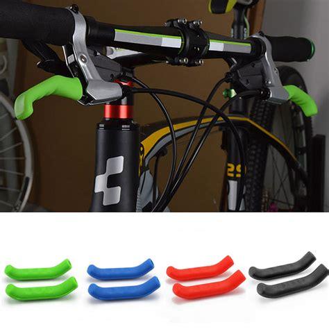Pelindung Handle Rem silikon pelindung handle rem tangan sepeda 2pcs black