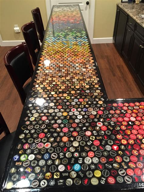 how to make a bottle cap bar top build an awesome custom bottle cap bar top your projects obn