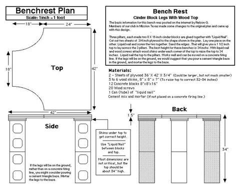 concrete shooting bench plans 1000 ideas about shooting bench plans on pinterest shooting bench shooting targets