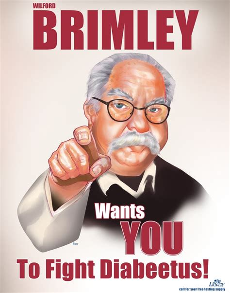 Diabetes Meme Wilford Brimley - wilford brimley diabetes iconic trademarks and