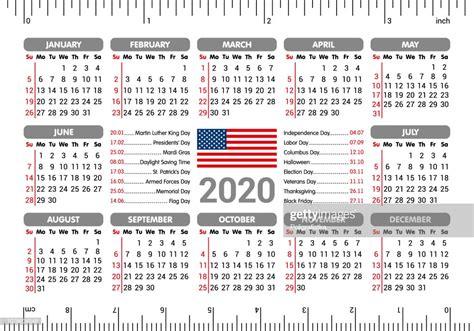 calendar usa flag  holidays ruler starting sunday vector illustration high res vector