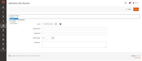 Vanity Url Set Up Create Custom Url Rewrite And Set Up Redirects In Magento
