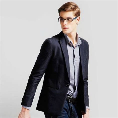 Blazer X8 Autumn S Casual Business Black Suit Fashion