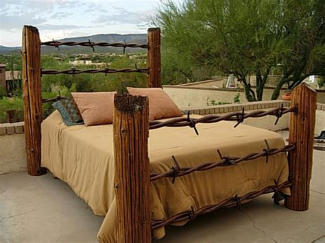 vire bedroom barbed wire fence post bed dreamy bedrooms