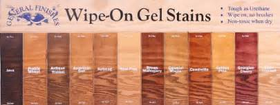 minwax gel stain colors general finishes gel stain colors gel stains from gf