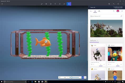 online 3d home paint design windows 10 creators update brings ideas to life in 3d with