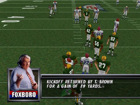 Madden Football 64 Screenshots | GameFabrique G Dragon