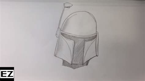 Easy Things To Draw From Wars by Drawing Boba Fett From Wars Easy Drawings Easy