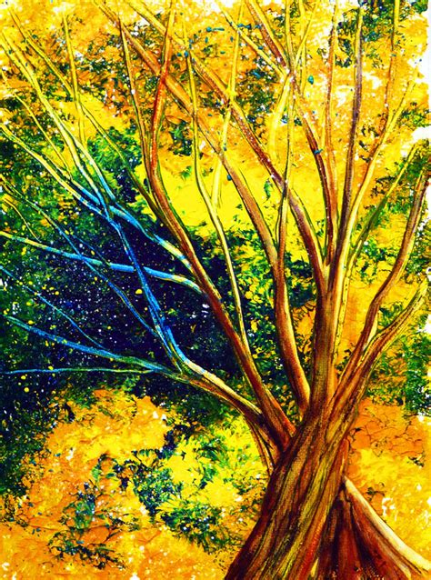 acrylic painting forest tutorial acrylic tree tutorial by annmariebone on deviantart