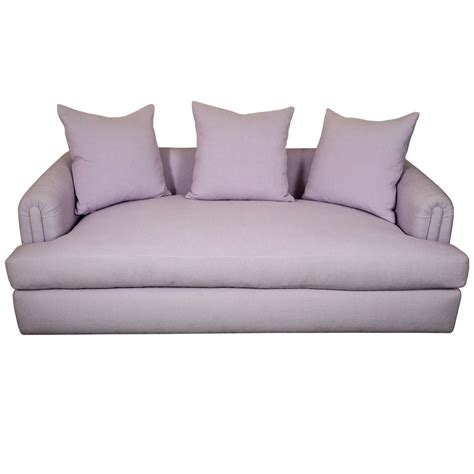chase couch lilac upholstered sofa by steve chase at 1stdibs