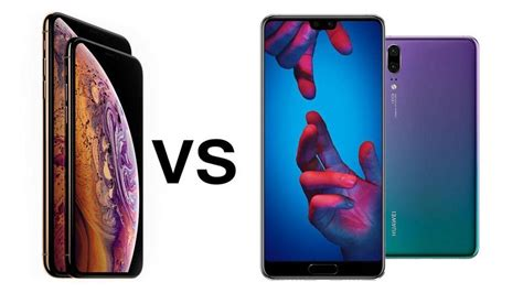 iphone xs  huawei p pro comparison review tech advisor