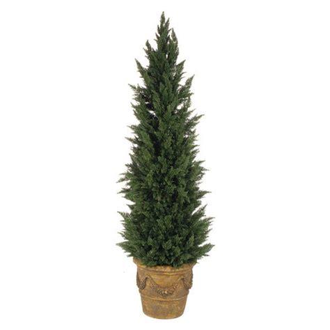 Outdoor Artificial Tree - 7 foot artificial outdoor cypress tree a 125 autograph