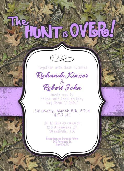 Camouflage Wedding Invitations