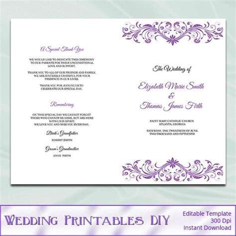 17 Best Ideas About Wedding Ceremony Booklet Templates On Pinterest Wedding Programs Ceremony Wedding Program Template Staples