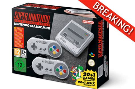 nintendo is releasing a new mini nes classic edition daily hive vancouver nintendo announce snes classic mini released this september with 21 classic daily