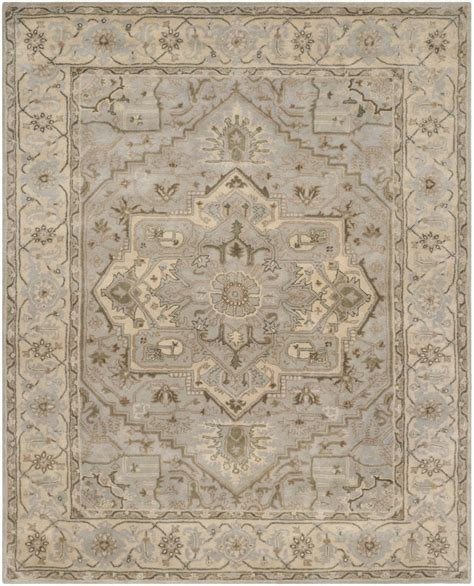beige and gray area rugs safavieh safavieh heritage hg866a beige grey area rug 126801
