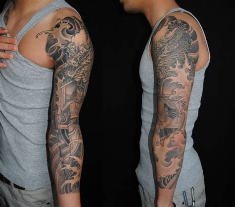 tattoo sleeve background designs background scales water inspiration