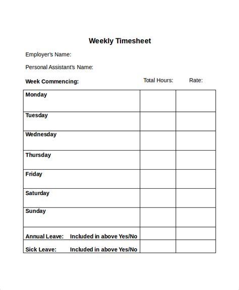 30 Timesheet Templates Free Sle Exle Format Free Premium Templates Timesheet Template
