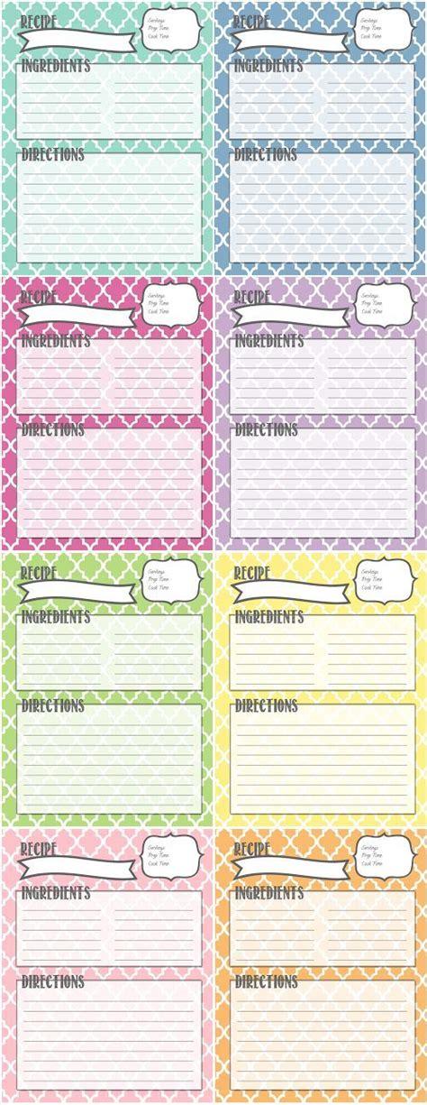 printable recipe binder recipe binder printables by melanie gets married organize