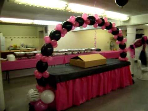 Hello Kitty Decorations For Baby Shower by Zebra Baby Shower Pink And Black Youtube