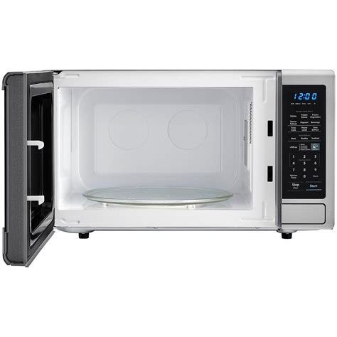 Freezer Sharp 8 Rak smc1842cssharp appliances 1 8 cu ft 1100w counter