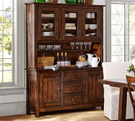 Benchwright Buffet Hutch Pottery Barn
