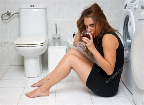 drunk in bathroom drunk woman in her bathroom stock photo 169 bertys30 22306367